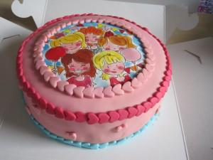 Verjaardagstaart Blond Amsterdam