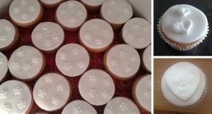 Bruiloftcupcakes