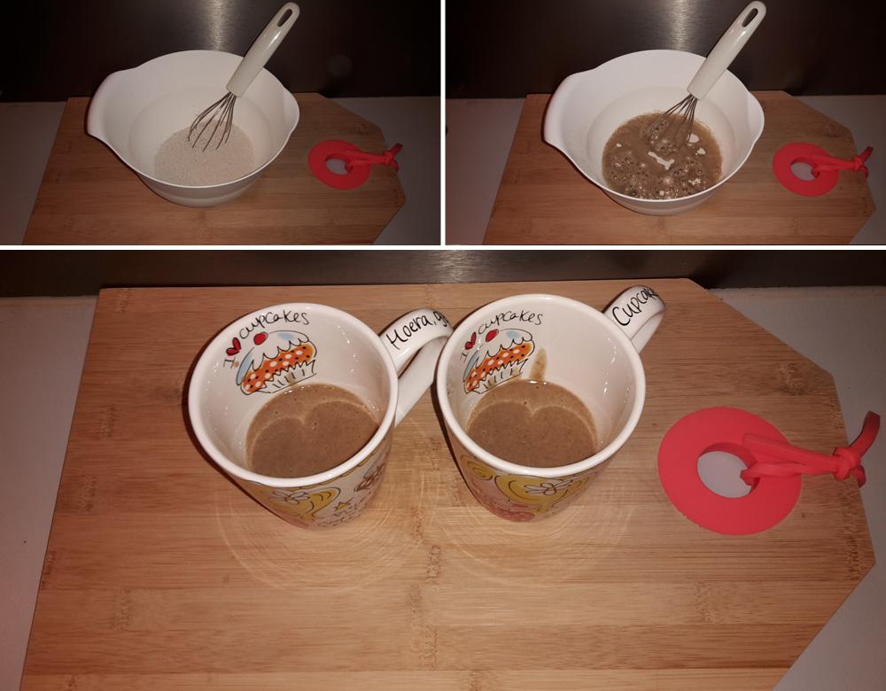 mug cake bereidingswijze