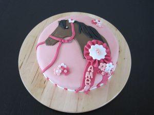 Roze paardentaart