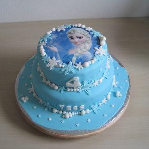 Frozen stapeltaart, Elsa