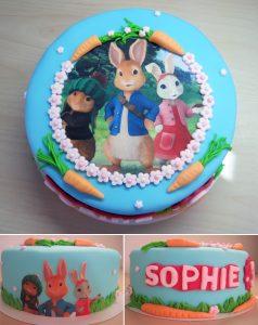 Pieter Konijn taart