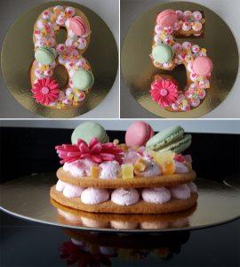 Cookie cake cijfertaart