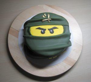 Ninjago taart
