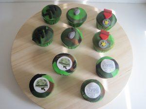 Legercupcakes