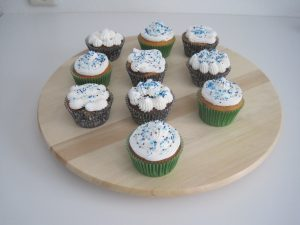 Cupcakes met lemoncurd