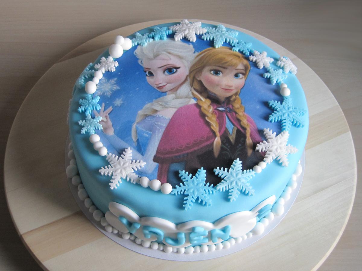 Taart Frozen
